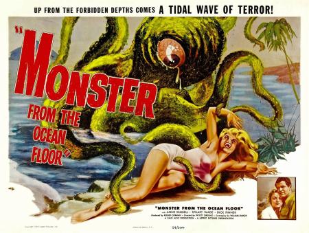 Monster From The Ocean Floor 1954 f