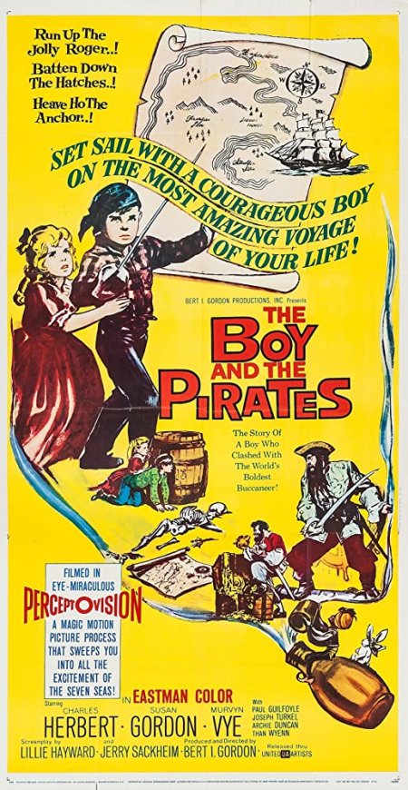 The Boy And The Pirates 1960