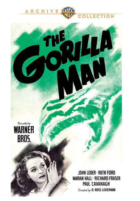 The Gorilla Man 1943 dvd
