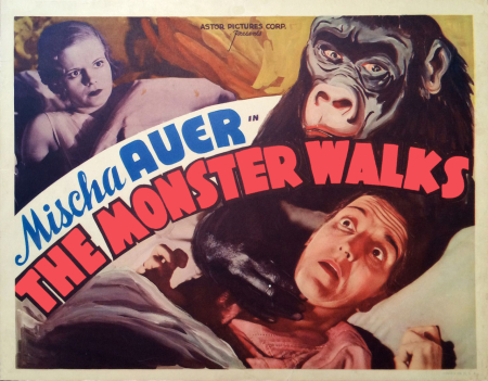The Monster Walks 1932 gk
