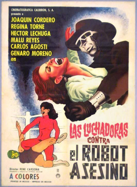 Wrestling Women Vs The Killer Robot 1969