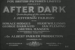 After Dark 1932