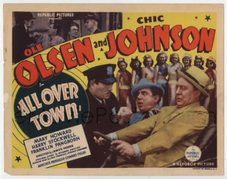 All Over Town 1937