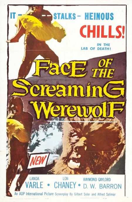 Face Of The Screaming Werewolf 1964