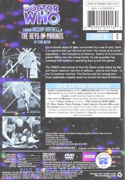 Doctor who 5 keys marinus US DVD