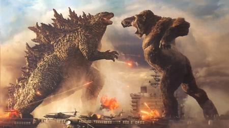 Godzilla Vs Kong 2021 a