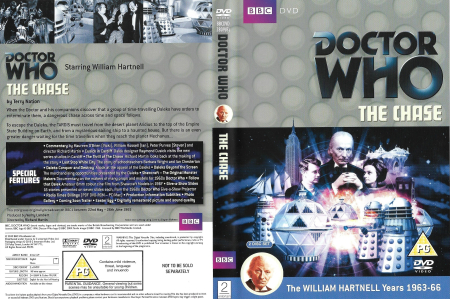 Doctor Who 0016 The Chase UK DVD