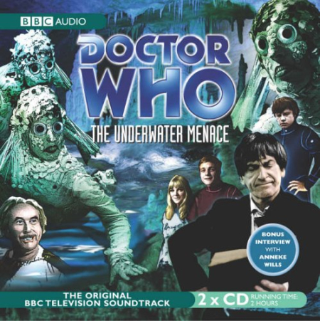 Doctor Who 0032 The Underwater Menace Audio CD