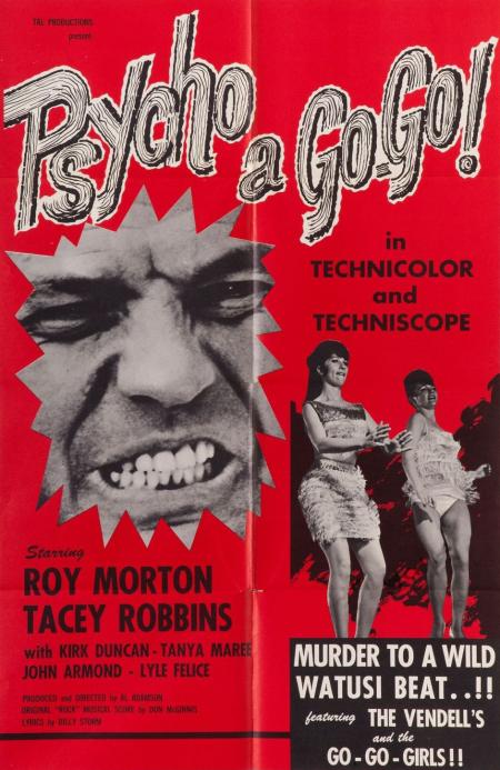 Psycho A Go-Go 1965 poster