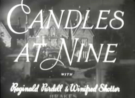 Candles at nine 1944