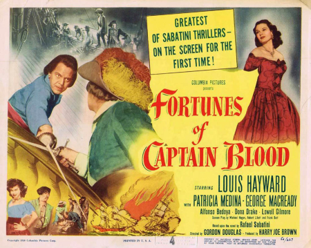 Fortunes Of Captain Blood 1950 c