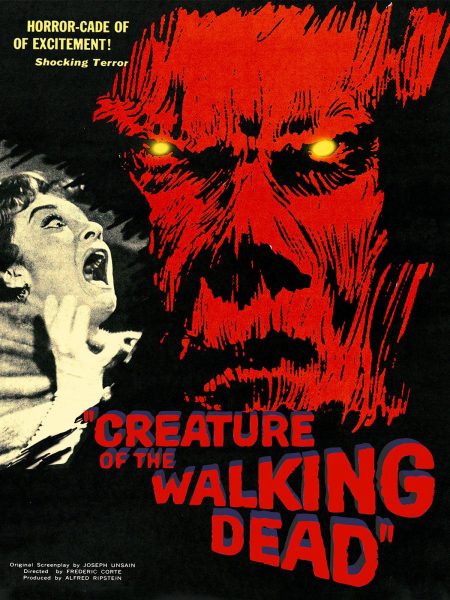 Creature Of The Walking Dead 1965 a