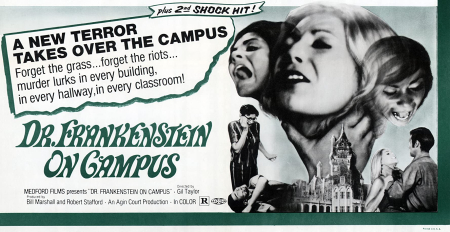 Dr Frankenstein On Campus 1969
