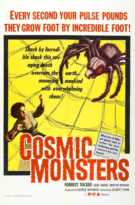 Cosmic monsters 1958