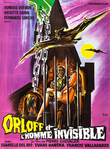 Orloff Against The Invisible Man 1970