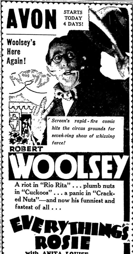 Everything's Rosie 1931 c