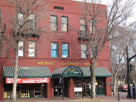 Michael garman magic town a