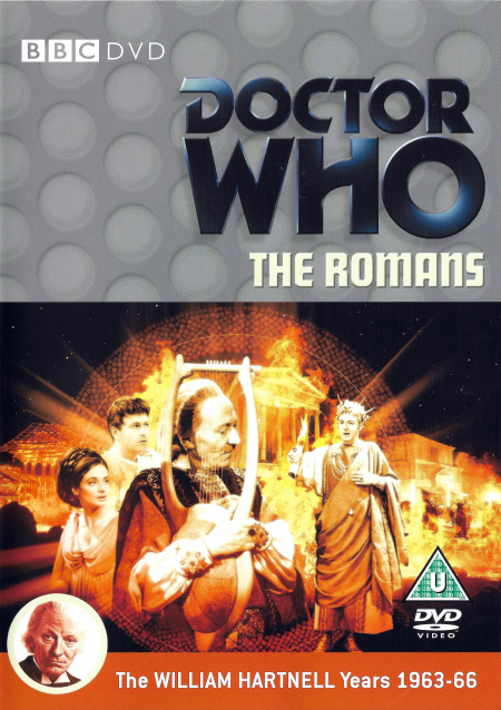 Doctor who 012 the romans UK DVD