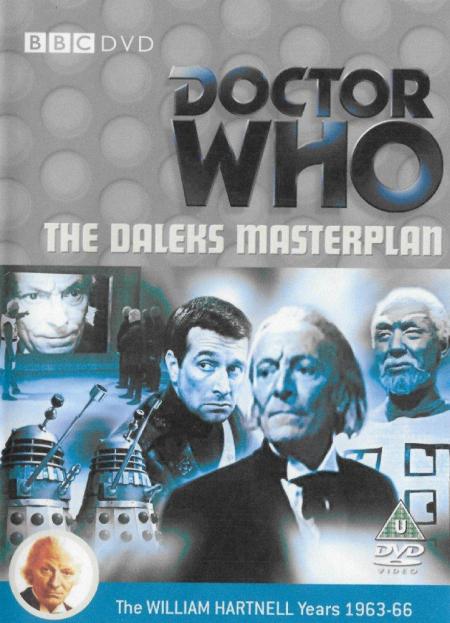 Doctor Who 0021 The Dalek's Master Plan UK DVD