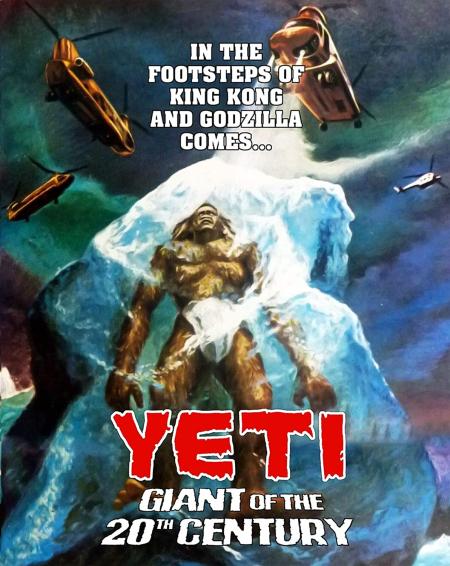Yeti Giant Of The 20th Century 1977