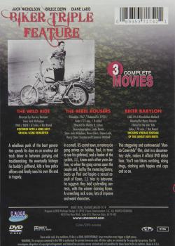 Bikers triple feature dvda
