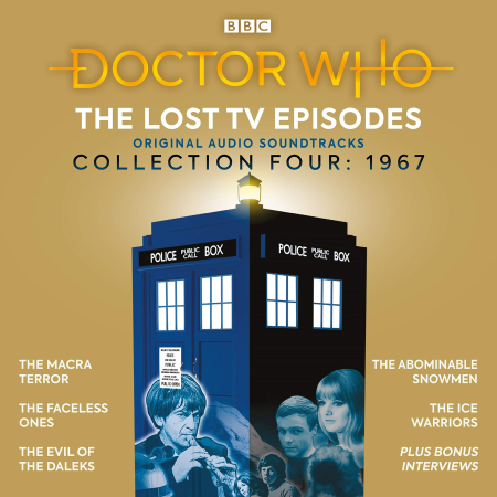 Doctor who lost ep coll 4 BBC CD