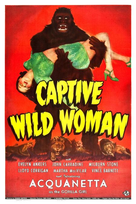 Captive Wild Woman 1943