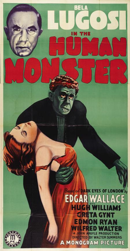 Dark eyes of london human monster US 1939