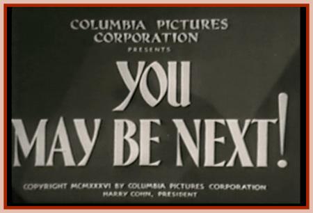 You may be next 1936