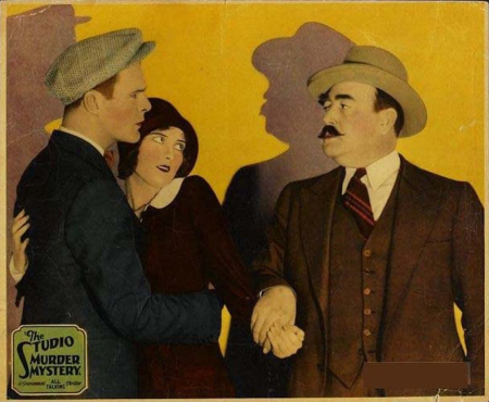 The Studio Murder Mystery 1929
