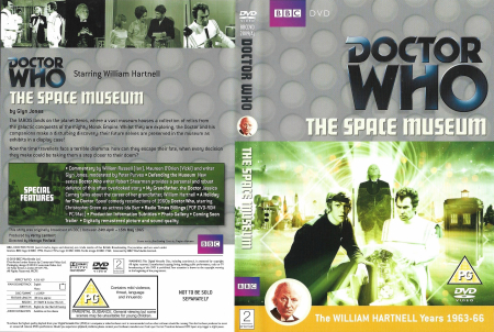 Doctor Who 0015 The Space Museum uk dvd