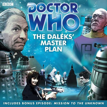 Doctor Who 0021 The Dalek's Master Plan UK Audio CD