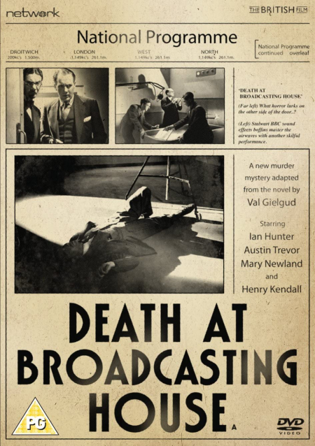 Death At Broadcasting House 1934 DVD