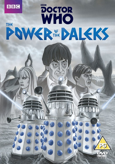 Doctor Who 030 The Power Of The Daleks Animated UK DVD